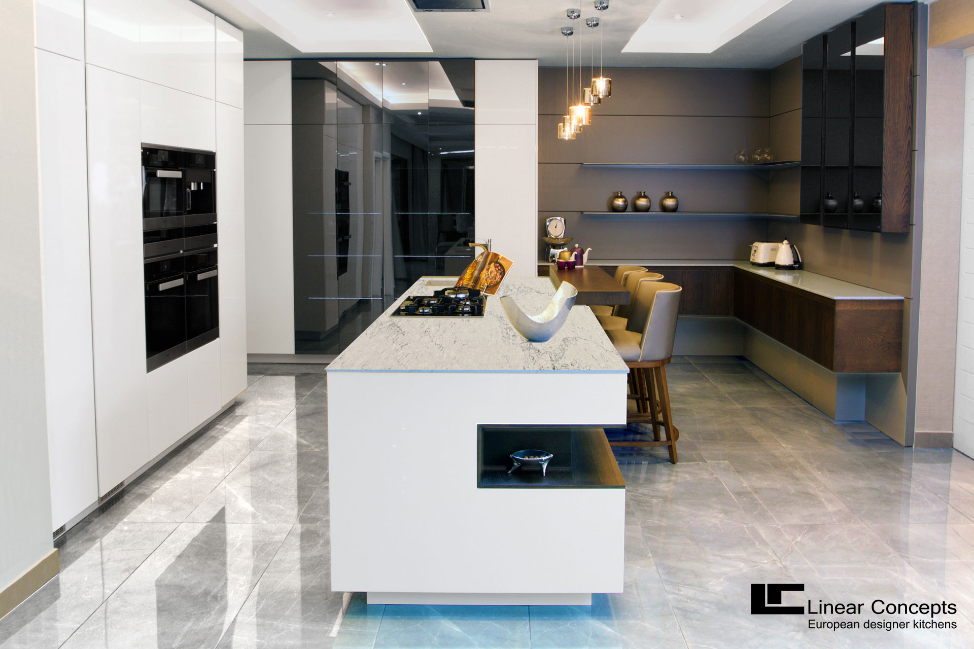 Ernestomeda Barrique | Linear Concepts | European Kitchen Designs |  Kramerville